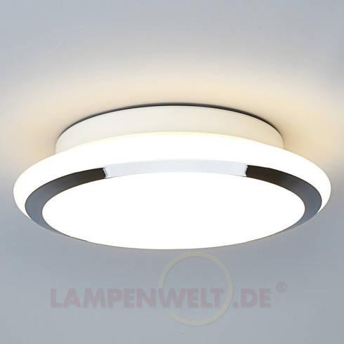 LED Bad Deckenleuchte Jiri: Moderne Badezimmer Von Lampenwelt.de