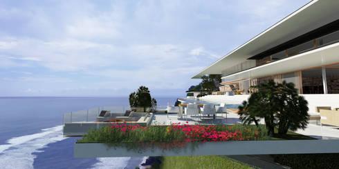 ULUWATU HOUSE:   by Guz Architects