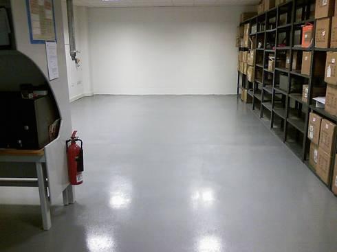 Specialist floor coatings:   by Painter Of Distinction