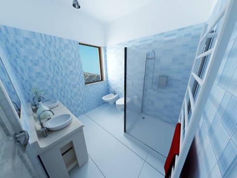 Appartamento da 160 metri quadrati:  in stile  di Antonio De Simone - architetto