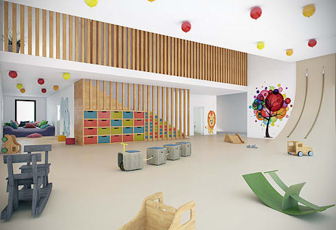 Borusan day care centre:   by Haag Architects