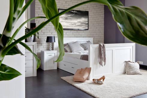 modernes bett aus massivholz von massiv aus holz homify. Black Bedroom Furniture Sets. Home Design Ideas