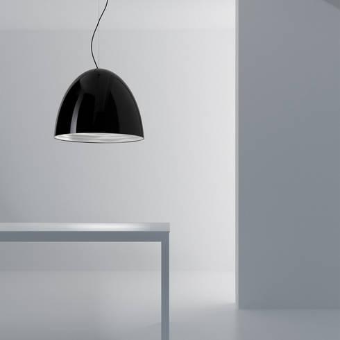 Lampada Furà: Soggiorno in stile in stile Moderno di Studio 06