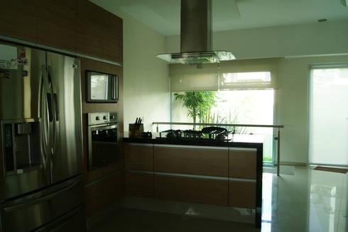COCINA : Cocinas de estilo minimalista por GHT EcoArquitectos