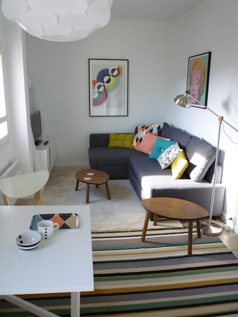 D coration appartement meubl di emmanuelle diebold homify for Appartement meuble lausanne