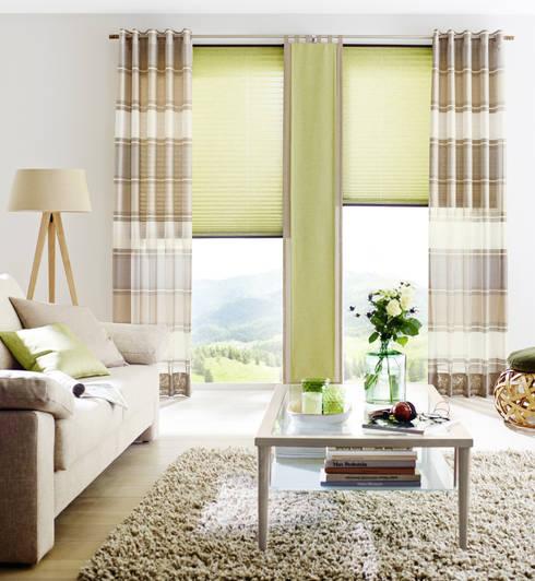 Plissee Vorhang Style : Gardinen und sonnenschutz plissee flächenvorhänge