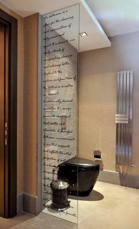 EB HOUSE SAKLIKORU: eclectic Bathroom by Esra Kazmirci Mimarlik