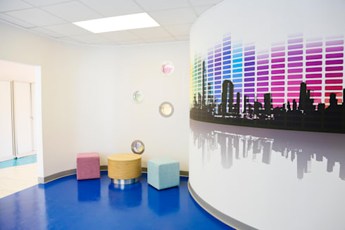 'Our House' Disabled Childrens Centre:  Commercial Spaces by Koubou Interiors