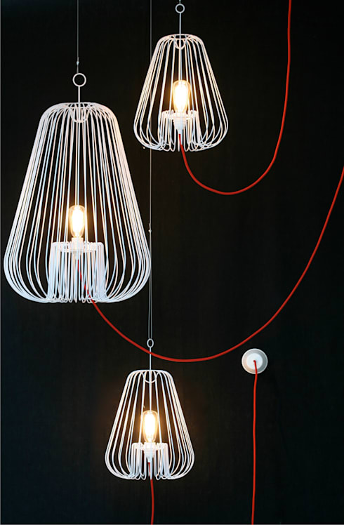 Light Cage by Jocelyn Deris: modern Living room by La Corbeille Éditions
