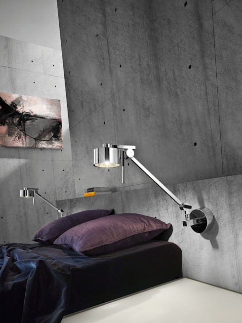 industrial Bedroom by homify