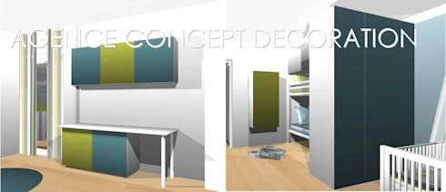 optimiser petit appartement par agence concept decoration | homify