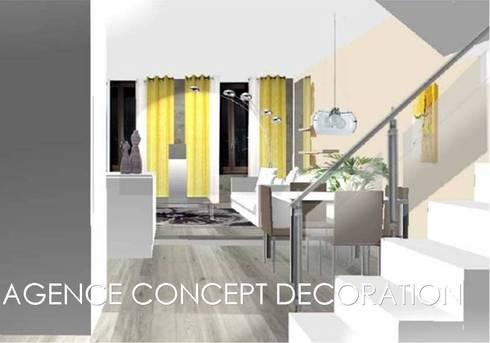 R novation appartement ancien par agence concept for Idee renovation appartement ancien