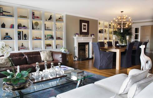 AK HOUSE: eclectic Dining room by Esra Kazmirci Mimarlik