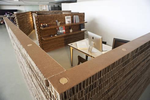 HONEY COMBINATION: Casa in stile  di MARIO PAGLIARO DESIGN
