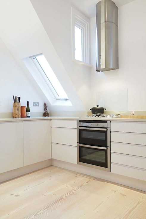 Parliament Hill Interior Design, Hampstead, London: scandinavian Kitchen by Residence Interior Design Ltd