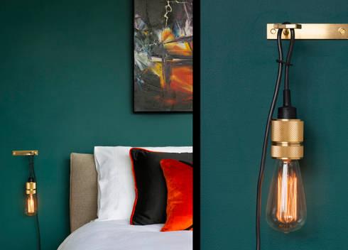 A Single Man Bedroom… .: industrial Bedroom by FADI CHERRY | design studio
