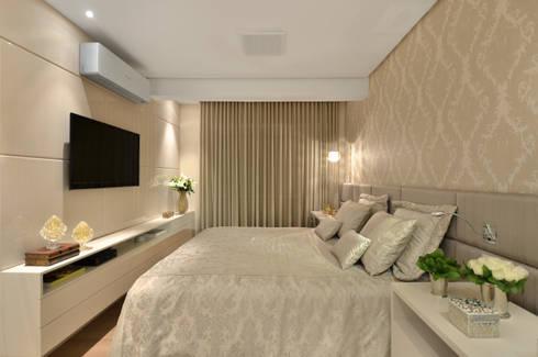 Dormitório S R: Quartos  por Redecker + Sperb arquitetura e decoração