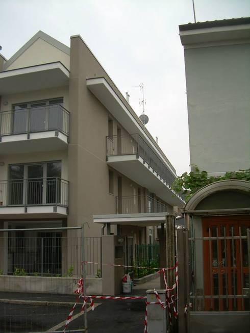 Edificio residenziale via roma limbiate di studio guzzo for Piano piano lotto stretto