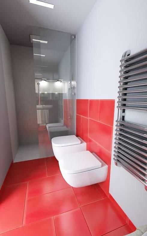 Interior design di un appartamento : Case in stile in stile Moderno di Pierfrancesco Arnone Studio