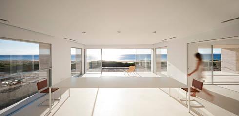 House of the Infinite: Comedores de estilo moderno de Alberto Campo Baeza