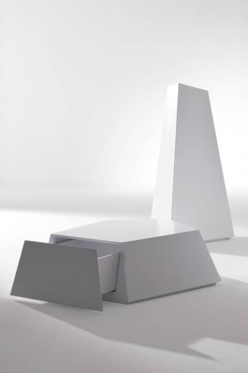 Projekty,  Salon zaprojektowane przez BARTOLI DESIGN