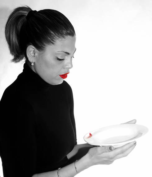 Platefulips: Cucina in stile in stile Eclettico di Conforti Tina Designer