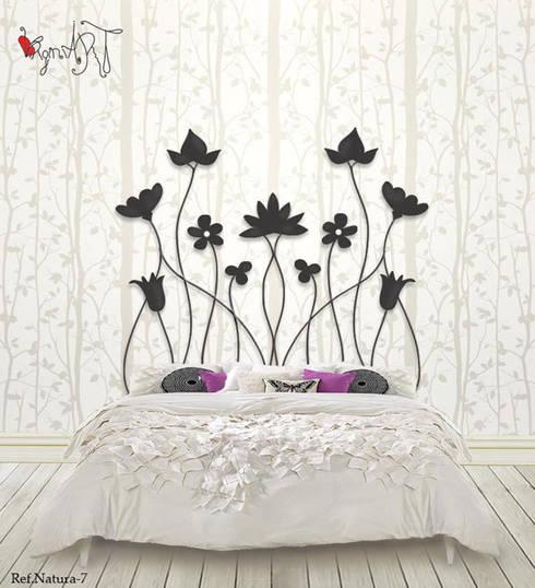 Muebles de forja: Dormitorios de estilo  de virginiART