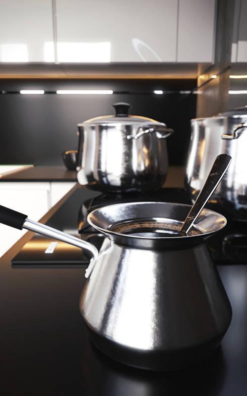 Kitchen&coffee: Кухня в . Автор – Stanislav Booth