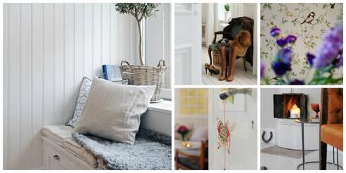 Alvhem Mäkleri & Interiör - scandinavian style: scandinavian Living room by Magdalena Kosidlo