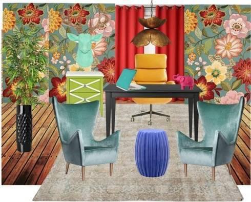 Playfool office room :  in stile  di ZauDESIGN