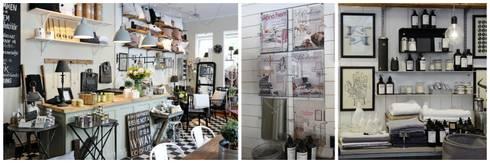 Alvhem Mäkleri & Interiör - shop and magazine: scandinavian Living room by Magdalena Kosidlo