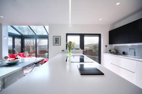 MR & MRS BLANK'S KITCHEN: modern Kitchen by Diane Berry Kitchens