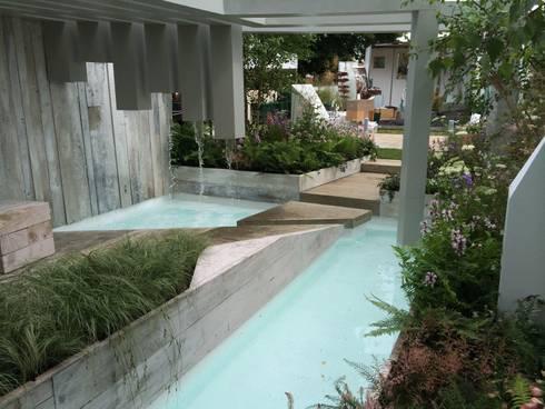 pool and waterfall:   by Alexandra Froggatt Design