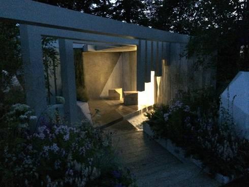 nightime on the garden:   by Alexandra Froggatt Design