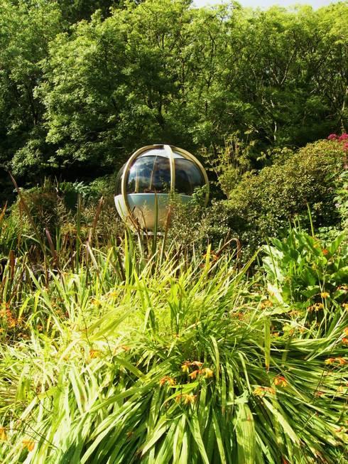 "The ""Sphere"" has landed:  Garden by Kevin Cooper Garden Design"