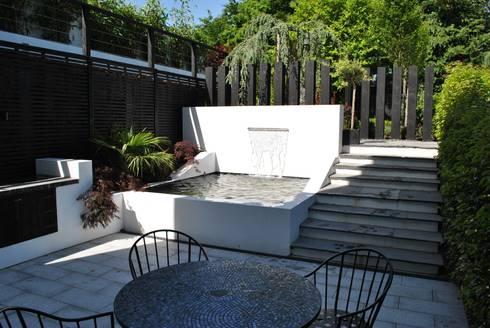 """Modern Living"" in the city: modern Garden by Kevin Cooper Garden Design"