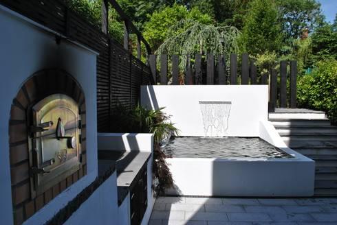 <q class='-first'>Modern Living</q> in the city : modern Garden by Kevin Cooper Garden Design