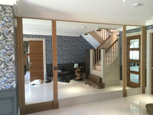 Yuila Project, Tadworth:  Walls & flooring by The UK's Leading Wall Panelling Experts Team