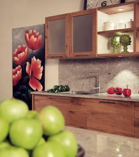 CUCINA MODELLO ERA by DIEGI: Cucina in stile in stile Moderno di DIEGI SNC