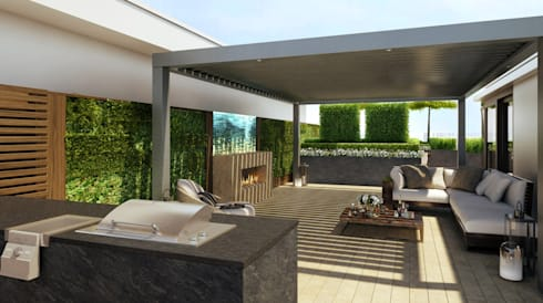 Chelsea Creek - copyright St George Plc: modern Garden by Aralia
