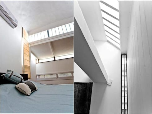 Residence for Shaily and Sunil Aacharya.: minimalistic Houses by WRIGHT INSPIRES