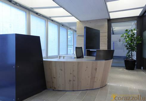 Reception: Studio in stile  di CORAZZOLLA SRL - Arredamenti su Misura
