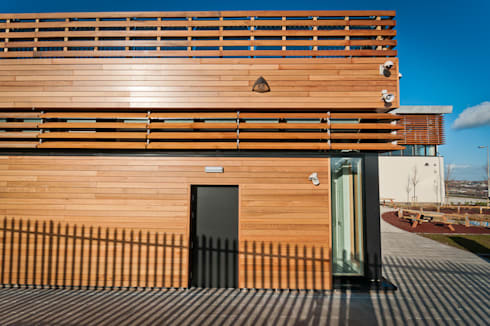 Think Low Carbon Centre:  Office buildings by Jefferson Sheard Architects