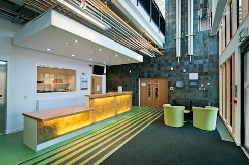 Think Low Carbon Centre:  Offices & stores by Jefferson Sheard Architects