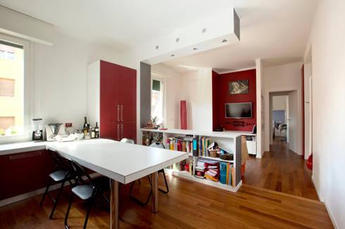 Zona giorno: Case in stile in stile Minimalista di BRENSO Architecture & Design