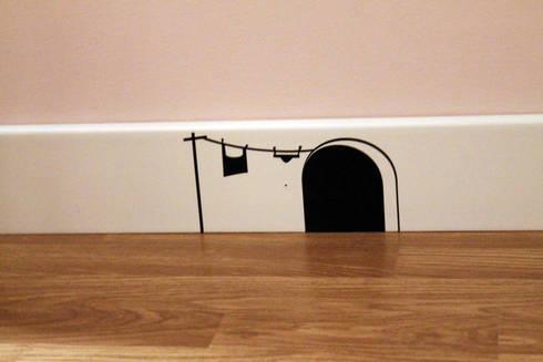 la stanza di Agnese: Stanza dei bambini in stile  di desink.it