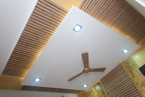 Jain bungalow:   by Gupta's Asso.Architects pvt.ltd.