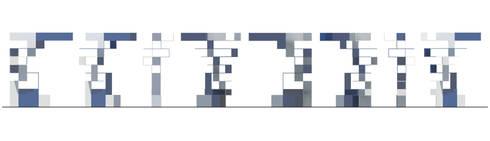 Prospetti: Ingresso, Corridoio & Scale in stile in stile Moderno di BRENSO Architecture & Design