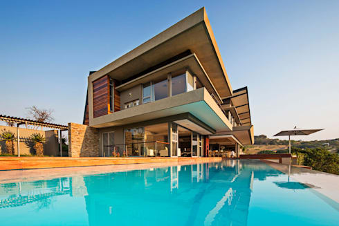 Albizia House: modern Houses by Metropole Architects - South Africa