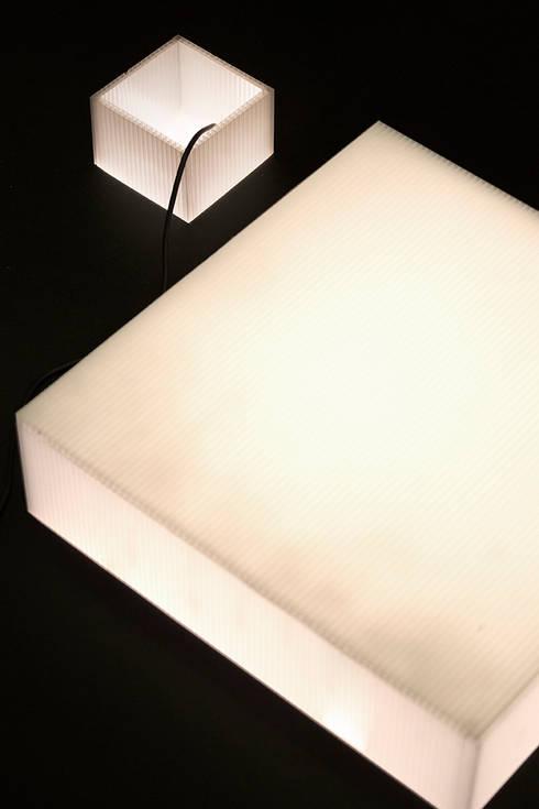 Dettaglio dei pozzi: Studio in stile  di BRENSO Architecture & Design